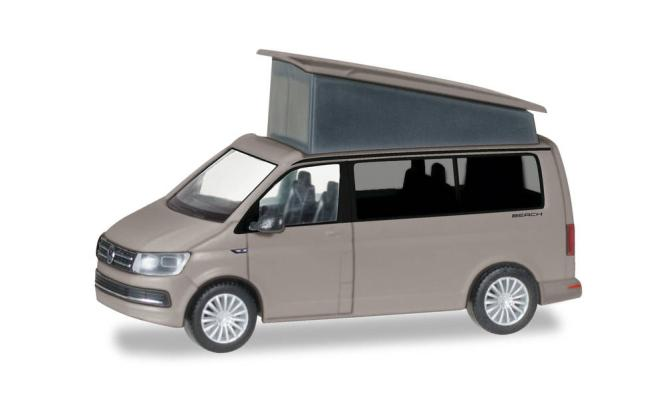Herpa VW T6 Multivan California ascotgrau 028745