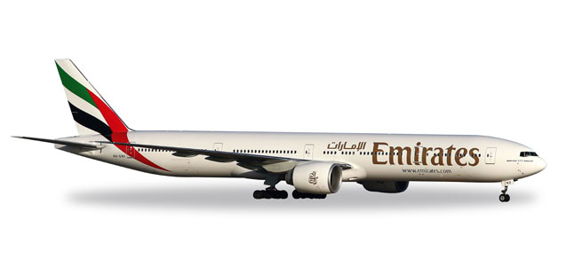 Herpa Wings 1:200 Boeing 777-300ER Emirates 557467