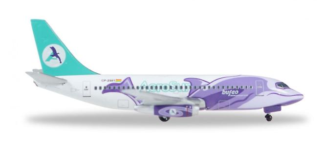 Herpa Wings 1:500 Boeing 737-200 Aerosur Bufeo 529952