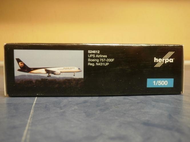 Herpa Wings 1:500 Boeing 757-200F UPS Airlines