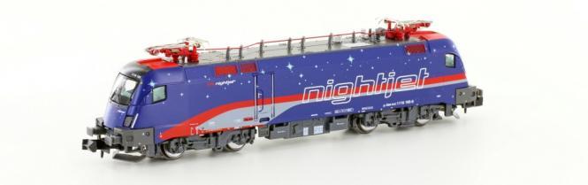 Hobbytrain N E-Lok BR1116 ÖBB Taurus Nightjet, Ep.VI 2783