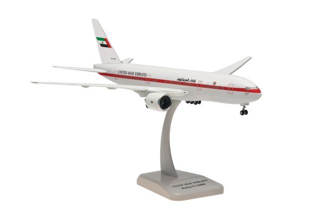 Hogan Wings 1:200 Boeing 777-200 United Arad Emirates(Abu Dhabi Airliness)