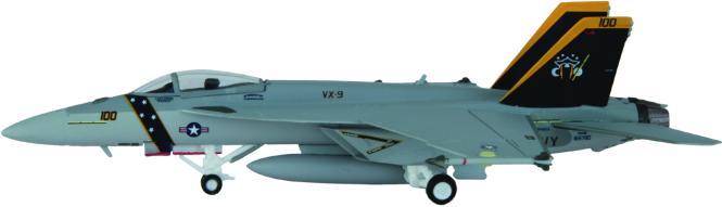 """Hogan Wings 1:200 F/A-18E, US Navy VX-9 """"Evaluators"""", N"""