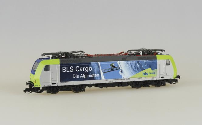Kühn E-Lok BR 185 4 Pantos BLS Cargo in Flagranti  Ep.V 32334