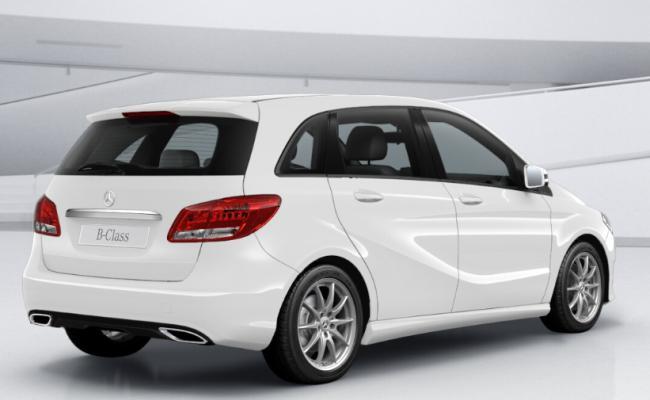 Kyosho iScale PKW 1:43 Mercedes-Benz B-Class (W247) - polar white