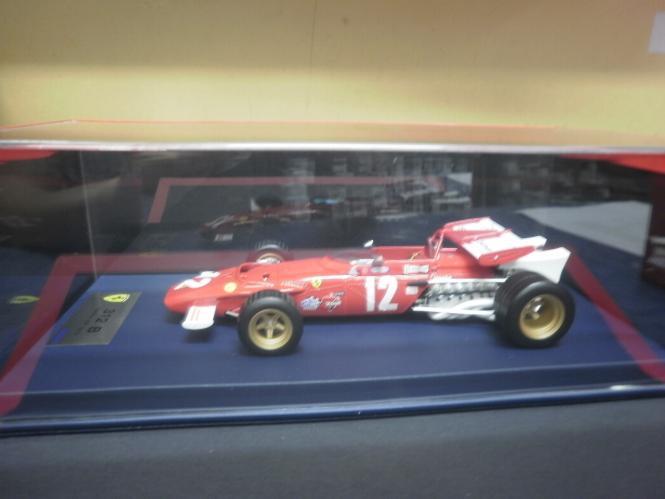 Looksmart 1:18 Ferrari 312B - Austria GP 1970 - Jacky Ickx with display case