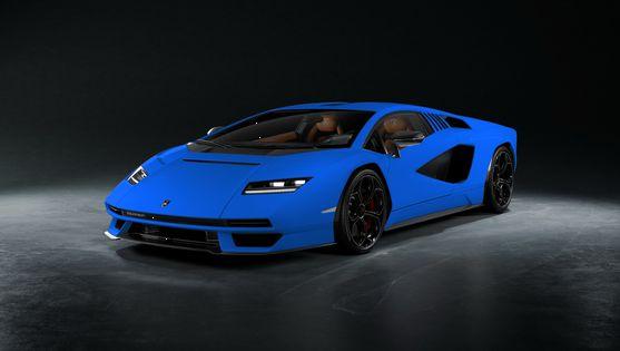 Looksmart 1:43 Lamborghini Countach LPI 800-4 - Bleu