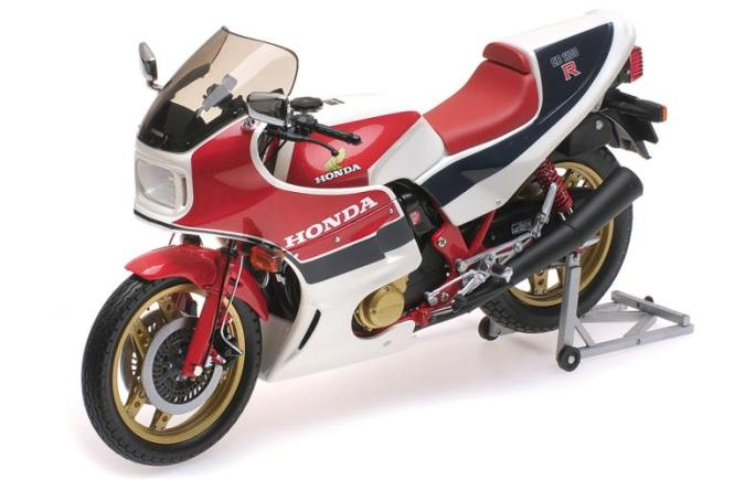 Minichamps 1:12 HONDA CB1100R - 1982 (RC II) - WHITE/BLUE/RED