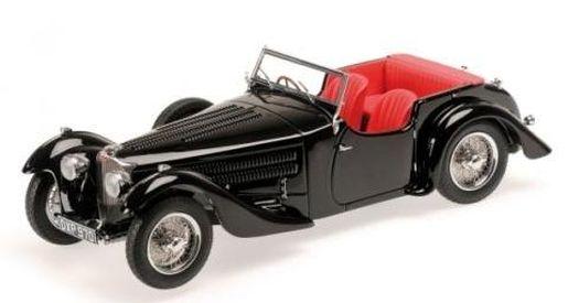 Minichamps 1:18 Bugatti Typ 57 C Corsica Roadster - black