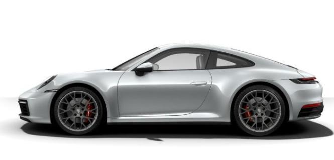 Minichamps 1:18 Porsche 911 (992) Carrera 4S - 2019 - silver