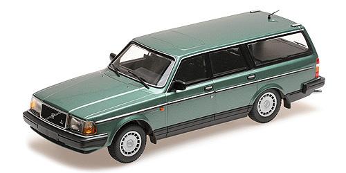 Minichamps 1:18 VOLVO 240 GL BREAK - 1986 - GREEN METALLIC