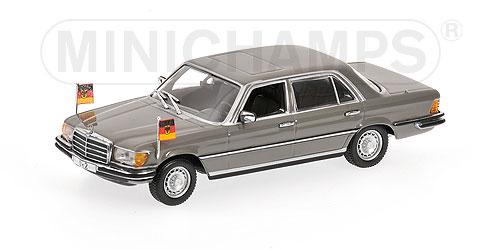 Minichamps 1:43 Mercedes 350 SEL (W116) 1972 Helmut Schmidt