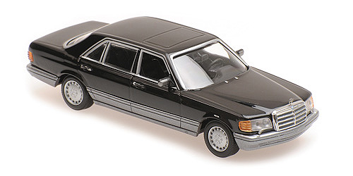Minichamps 1:43 Mercedes-Benz 560 SEL - 1990 - black