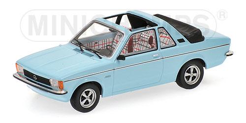Minichamps 1:43  Opel Kadett C Aero 1977 - lightblue