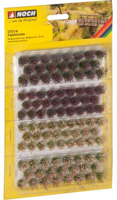 NOCH Grasbüschel Wildblumen 07014
