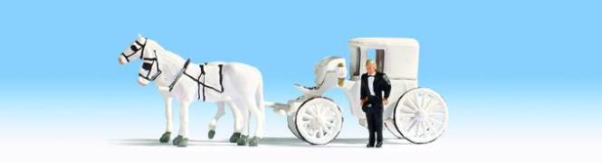 NOCH Hochzeitskutsche