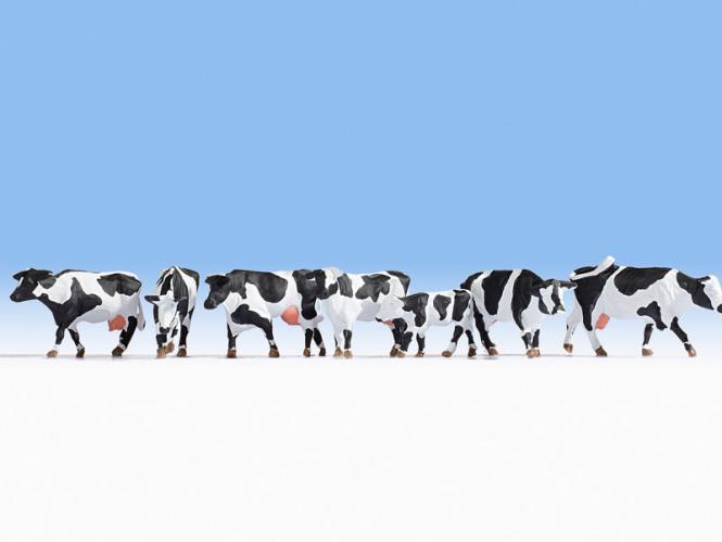 NOCH Kühe, schwarz-weiß 15725