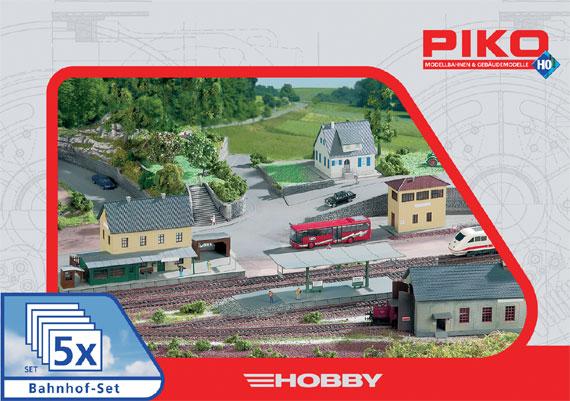 Piko Bahhof Set Bahnbauten