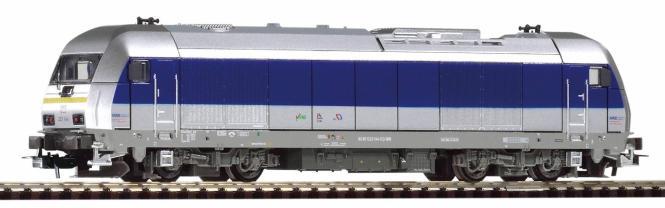 PIKO ~Diesellok Herkules MRB VI + lastg. Dec. 57890