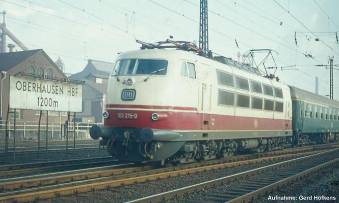 PIKO E-Lok BR 103 DB IV, Schrze , Scherenpantos 51670