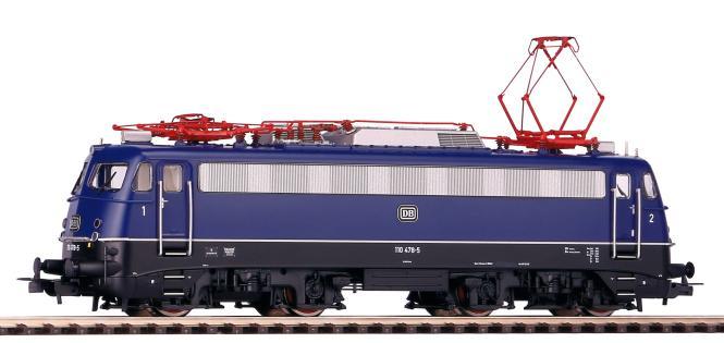 Piko ~ E-Lok BR 110.3 DB, tiefes Logo IV + PluX22 Dec.