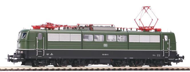 Piko ~E-Lok BR 151 DB grün IV + PluX22 Dec. 51301