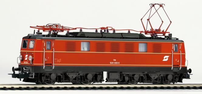 Piko ~E-Lok/Soundlok Rh 1041 ÖBB IV + PluX22 Dec. 51883