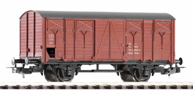 PIKO Ged. Güterwagen Gklm PKP IV 58762