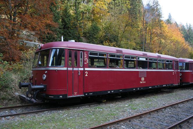PIKO N-Schienenbus 798 + Steuerwagen 998.6 DB, Ep. IV 40250