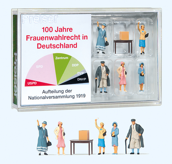Preiser 100 Jahre Frauenwahlrecht in 13402