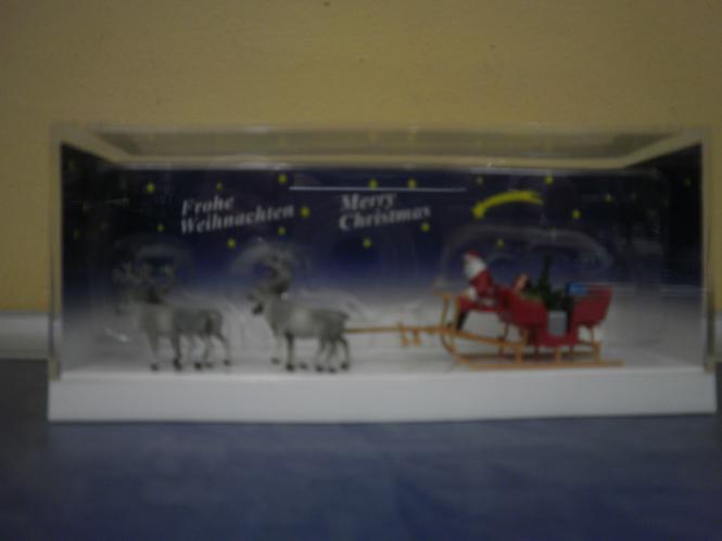 Preiser Weihnachtsschlitten mit 4 Ren 30399