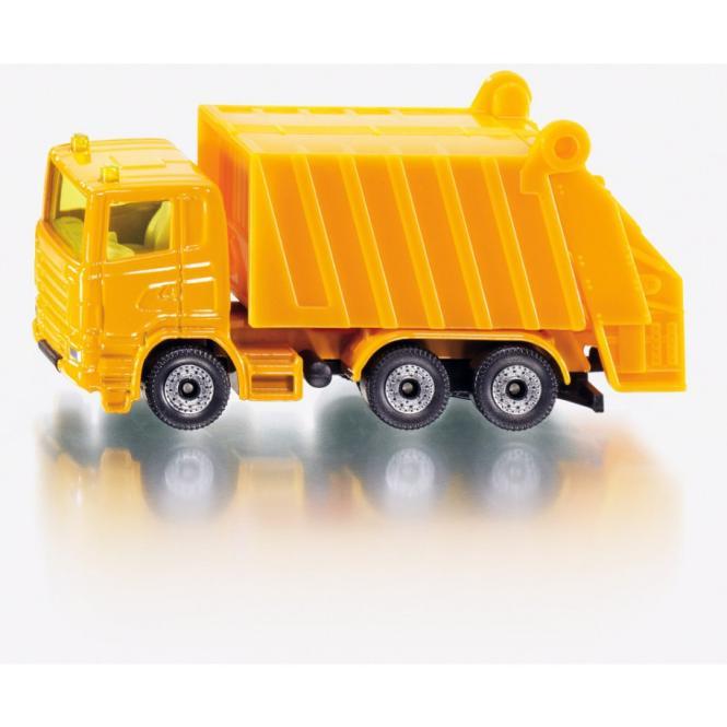 SIKU Scania R Müllwagen gelb