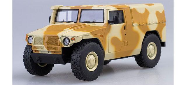 SSM 1:43 GAZ-233002 Tiger pickup Militärjeep Russland camouflage