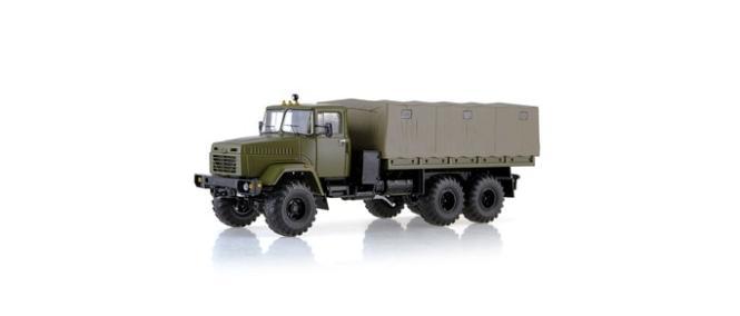 SSM LKW 1:43 KRAZ-260 Planen-LKW militärgrün