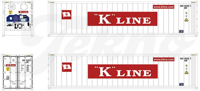 Tekno SZ 40'  Kühl-Container K Line