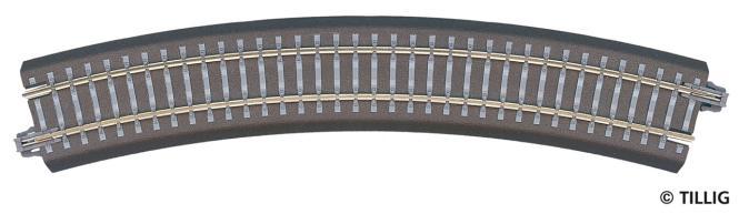 Tillig B-Gleisstück geb. R21 R35