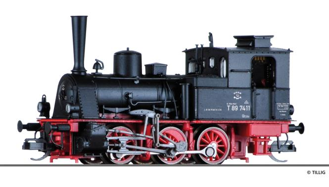 Tillig Dampflokomotive 89 7411 BBÖ, Ep. III