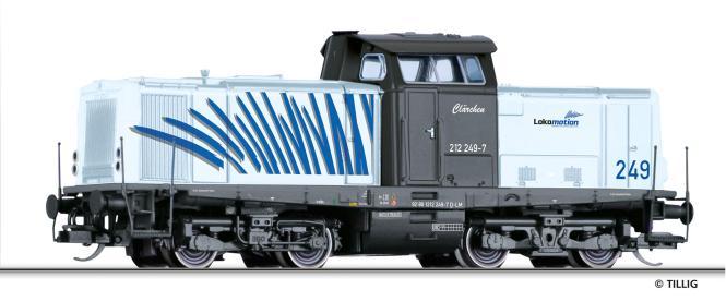 Tillig Diesellokomotive 212 249-7 LOKOMOTION, Ep. VI