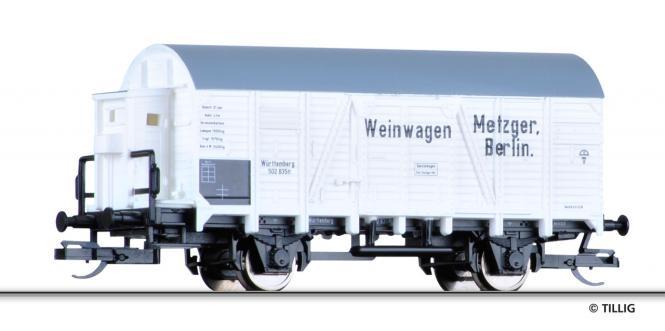 Tillig ged. Güterwagen, Weintransport, Metzger, Ep. I 14113