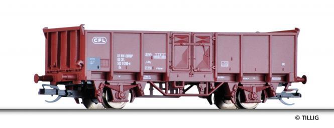 Tillig Offener Güterwagen Es CFL, Ep. IV