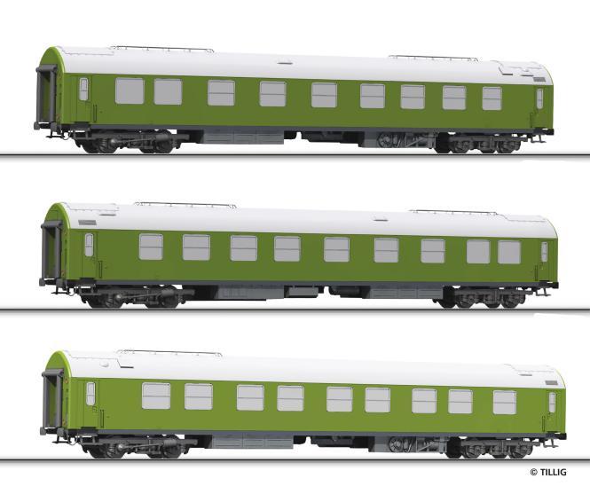 Tillig Reisezugwagenset Salonwagenzug 1 DR, Ep. IV