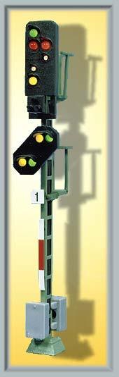 Viessmann H0 Licht-Ausfahrsignal mit Vorsignal