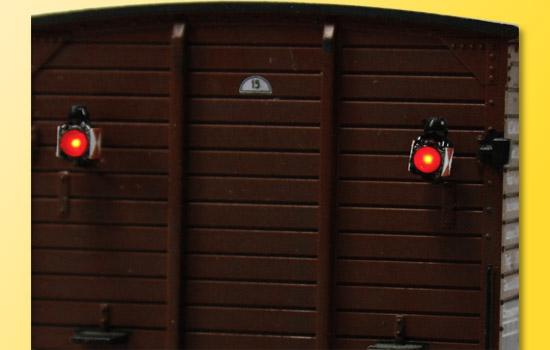 Viessmann H0 Zugschlusslaternen mit LED