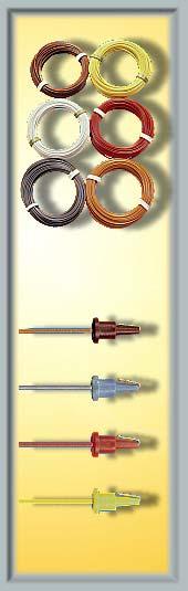 Viessmann Kabel auf Abrollspule 25 m, braun