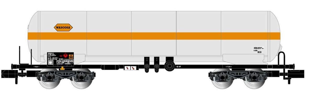 Arnold 4-achsiger Gastkesselwagen,WASCOSA Ep IV-V HN6435