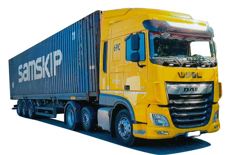 Awm camiones DAF XF 106 SC//aerop ga-ksz suerkemper 75351
