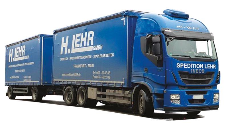 Ga-KHZ Lehr 75442 AWM LKW Iveco HiWay//Aerop