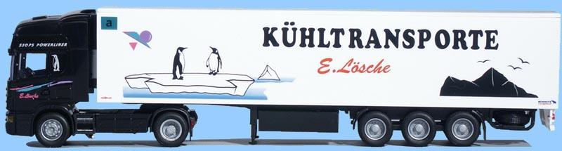 Kühl-KSZ Lösche AWM LKW Scania 4 Topl.//Aerop