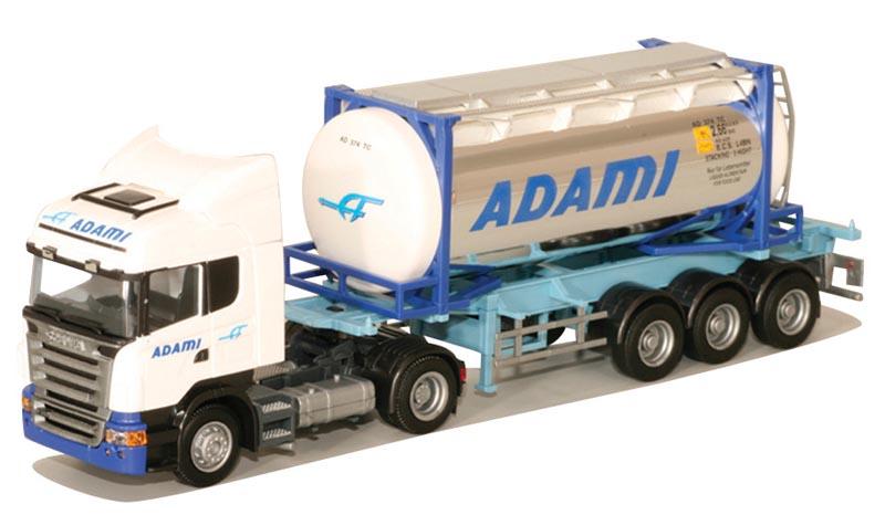 AWM LKW Scania R Topl.//Aerop Kühl-KSZ Rocco