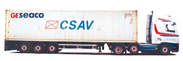 AWM LKW Scania R Topl.//Aerop Schubboden-SZ Tollpost